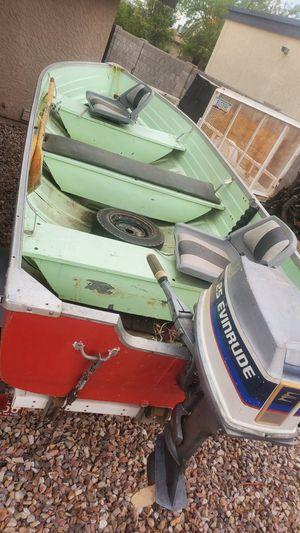 Mirrorcraft 14ft aluminum boat for Sale in Mesa, AZ