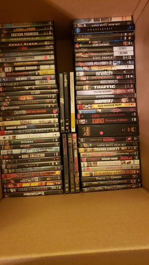DVDs, XBOX 360, PS2 PS3 games and some TV shows. for Sale in Kirkwood, NJ