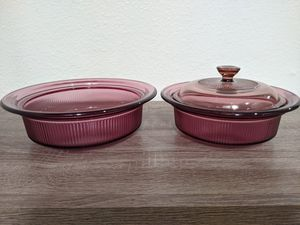 Set of 2 Pyrex Cooking Dishes for Sale in Grand Terrace, CA
