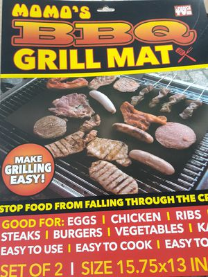 20 PIECE MOMOS BBQ GRILL MATS as seen on TV for Sale in Sanford, FL