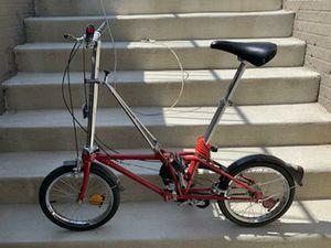 Dahon 3 speed folding bike 1985 practically unused for Sale in Upper Marlboro, MD