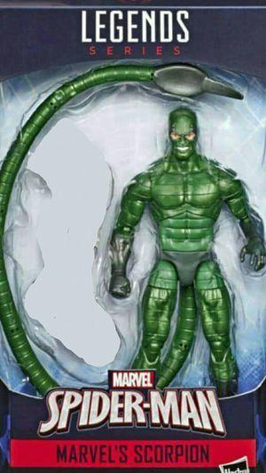 Marvel Legends Scorpion No Baf for Sale in Fullerton, CA