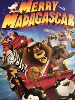 Merry Madagascar Dvd Movie for Sale in Elma,  WA