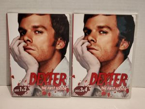 Dexter the first season disc 1-4 for Sale in Rialto, CA