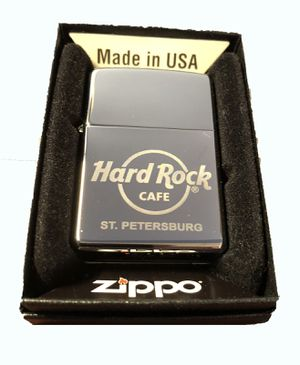 Hard Rock Cafe ST. PETERSBURG Collectible ZIPPO Lighter for Sale in Hainesville, IL