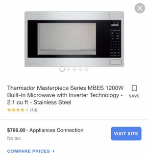 Thermatos microwave for Sale in Waltham, MA