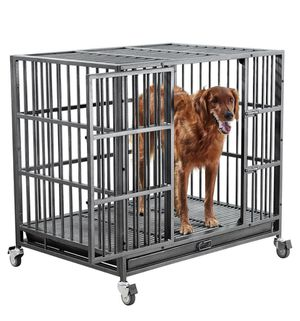 Indestructible dog kennel for med/large dogs for Sale in New York, NY