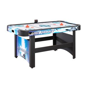 Hathaway face off 5 foot air hockey game table for family game rooms with electronic scoring free for Sale in Austin, TX