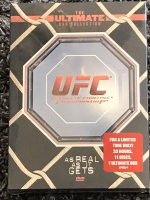 "DVD UFC / MMA ""BRAND NEW"" ULTIMATE FIGHTING CHAMPIONSHIP COLLECTION•WORKOUT•EXERCISE•TRAINING•WEIGHTS• for Sale in Las Vegas, NV"