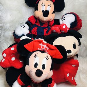 Disney Red Minnie Mouse Plush Toys for Sale in Largo, FL