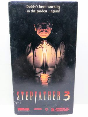 Stepfather 3 VHS Horror Movie for Sale in Garland, TX
