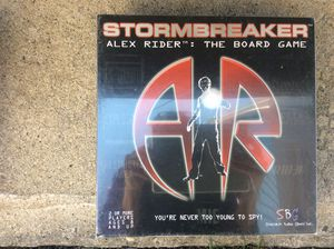 Storm Breaker Alex Rider board game -still in plastic for Sale in Fairless Hills, PA