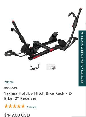 YAKIMA Hold Up 2 Bike for Sale in North Las Vegas, NV