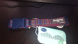Blueberry pet dog collar size m. New with tags for Sale in Greenwood, IN