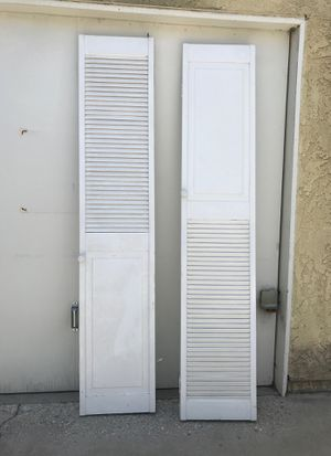 """Laundry room doors two 80"""" high and 32 wide but when finder they are 16"""" $15 each OBO! for Sale in Long Beach, CA"""