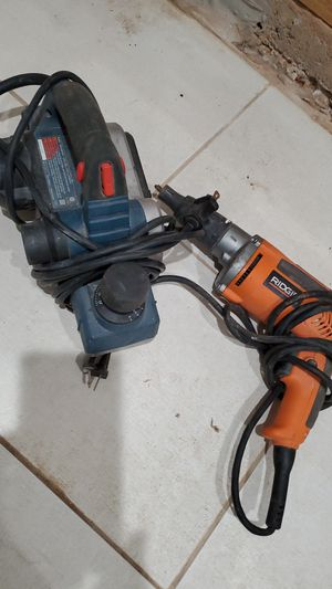 Dry wall drill and a plane for Sale in Bergenfield, NJ
