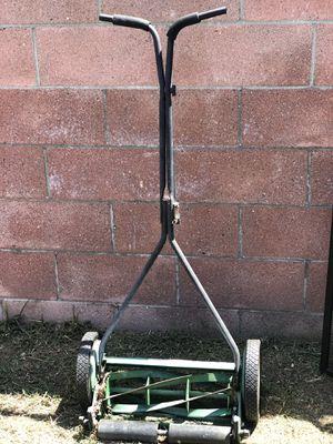 Manual push lawn mower for Sale in Long Beach, CA