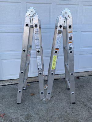 Werner 16' Duty-Master Heavy Duty Industrial Folding Ladder for Sale in Northfield, OH
