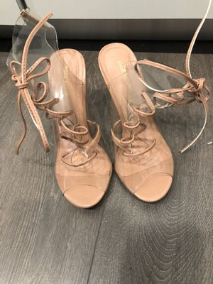 Clear and Nude Heels for Sale in Arlington, VA