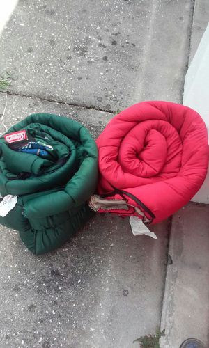 Colman sleeping bags for Sale in Tampa, FL