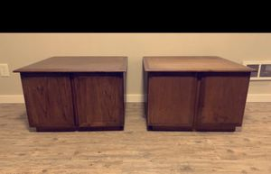 Mid Century Side Tables (2) for Sale in Tacoma, WA