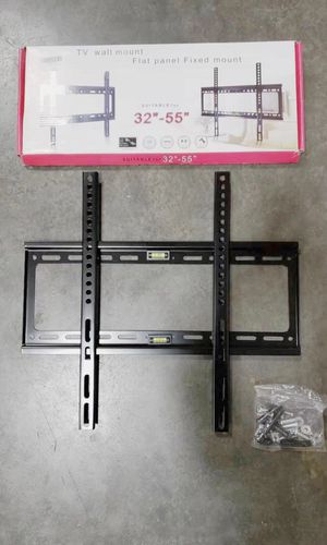 NEW IN BOX $10 Each Fixed TV Televsion Wall Mount Bracket Stand 88 lbs Weight Capacity for Sale in Los Angeles, CA