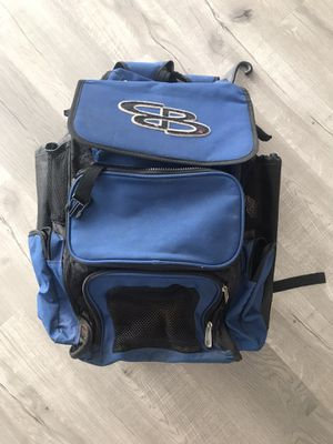 Boombah Superpack Bat Pack -Backpack Version (no Wheels) - Holds up to 4 Bats - for Baseball or Softball for Sale in Hialeah, FL