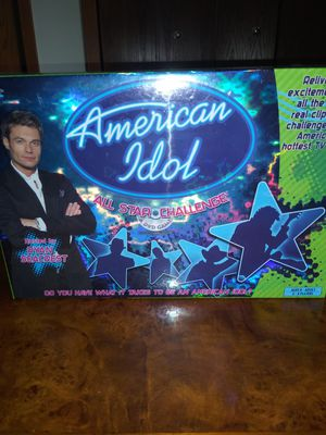 Board Game American Idol for Sale in Raleigh, NC