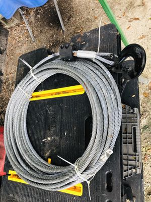 1/2 inch - 20k winch cable. for Sale in Orlando, FL