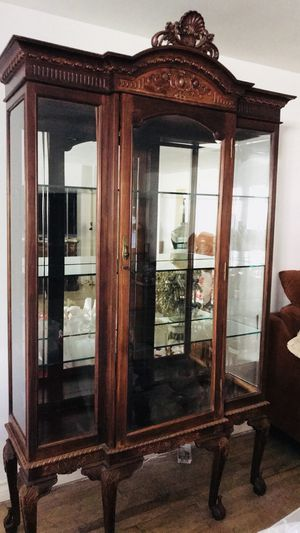 Antique Unique Curio Cabinet for Sale in Los Angeles, CA