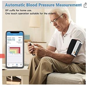 Armfit Plus™ Blood Pressure Monitor Bluetooth, Upper Arm Cuff, Accurate Digital BP Machine, Heart Health Monitoring Device, Free for iOS & Android for Sale in Corona, CA