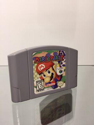 Mario Party N64/ Nintendo 64 Cartridge (Original) (No Repro) for Sale in Antioch, CA