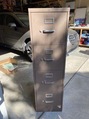 Metal filing cabinet for Sale in Rocklin, CA