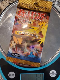 Pokemon Japanese Fossil Booster Pack for Sale in Lehigh Acres,  FL