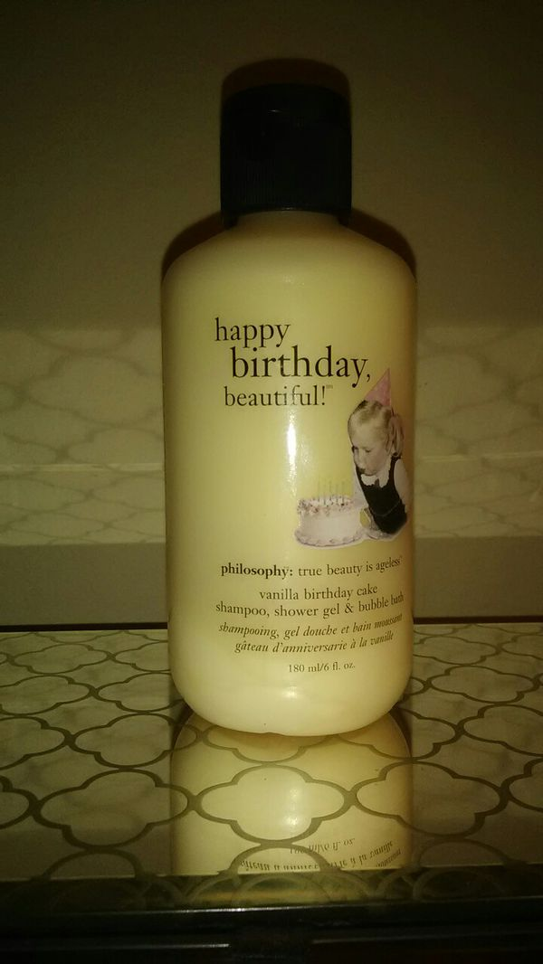 Philosophy Shampoo Shower Gel Bubble Bath