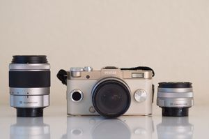 Pentax Q-S1 with 3 lenses for Sale in Irvine, CA