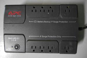 APC BE550R 550VA Back-UPS ES 8-Outlet Battery Backup System for Sale in Lake Worth, FL