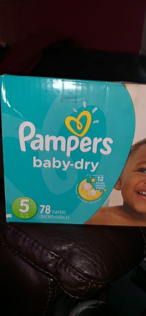 Pampers for Sale in Sanford, NC