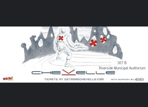 2 tickets to chevelle tonight for Sale in Riverside, CA