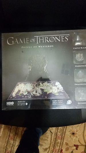 Game of Thrones 4d puzzle for Sale in Queen Creek, AZ