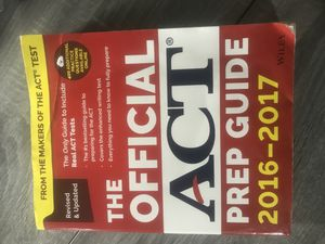 The Official ACT Prep Guide for Sale in Bellefontaine, OH
