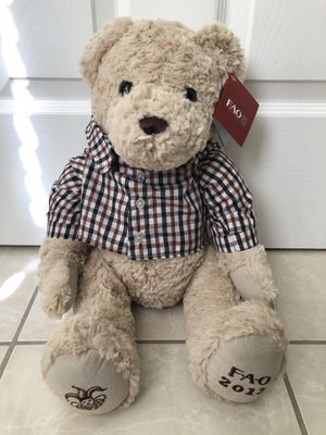 FAO Schwarz Teddy Bear Toy brand new with Tag for Sale in San Jose, CA