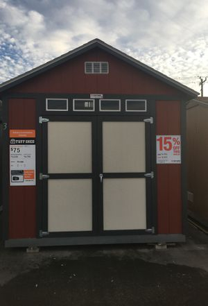 (6523) Tuff Shed TR800 10x12 was $4,768 Now $4,053 for Sale in Porter, TX