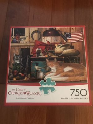 Buffalo games 750 Pc cat puzzle for Sale in Weehawken, NJ