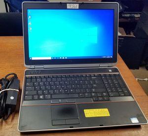 Fixed Price: Dell Latitude E6520 15.6'' Laptop Core i7 6GB RAM Win 10 Webcam HDMI for Sale in West Palm Beach, FL