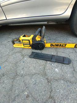 Dewalt Flexvolt Chainsaw Tool Only for Sale in Fresno,  CA