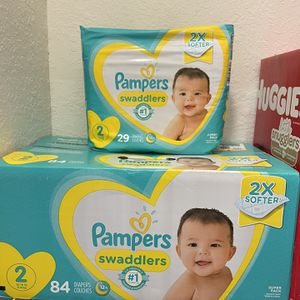 Pampers Diapers Size 2 for Sale in West Palm Beach, FL