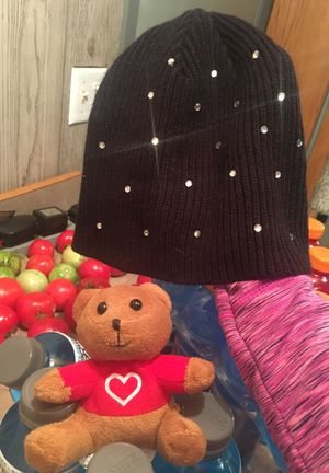 Hat and teddy bear for Sale in Bismarck, ND
