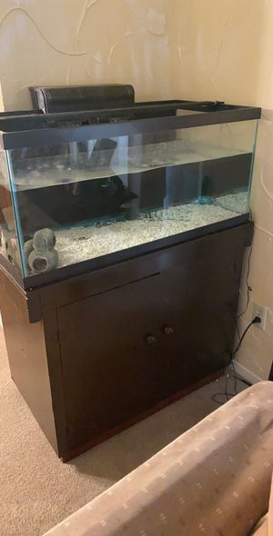 40 Gal Tank with Stand for Sale in Dallas, TX