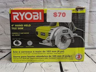 "Ryobi 4"" Hand Held Tile Saw for Sale in San Jose,  CA"